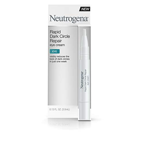 Neutrogena Rapid Dark Circle Repair Eye Cream, Nourishing & Brightening Eye Cream for Tired Eyes, .13 fl. oz (Best Cure For Dark Circles Under Eyes)