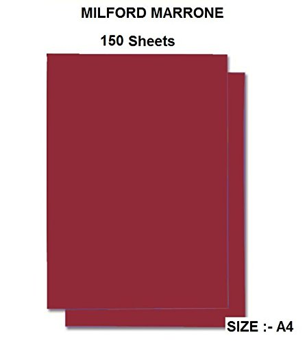 CVANU Premium Pack of 150 Sheets Milford Marrone Color Art Papers A4 Construction Paper Craft Supplies for Kids. 120GSM (B07BHPNZYC) Amazon Price History, Amazon Price Tracker