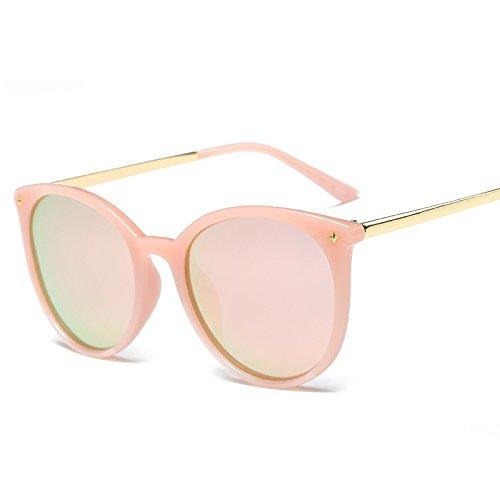 Gafas Cherry polarizan Polvo Sol Que Color powder Moda Tendencias del de Wfkjj Pulverized de Sol la Sol polarizan Gafas Sakura Transparente con de el de de Blossom Gafas Marco Que UHqxx6pawz