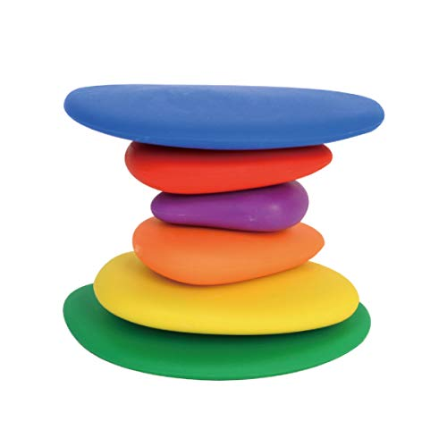 edx Education Rainbow Pebbles - Sorting and Stacking Stones by edxeducation (Image #5)