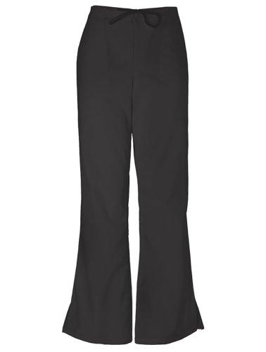 Cherokee 4101 Low Rise Flare Scrub Pant Black X-Large