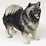Keeshond - Figurine - Gift for Dog Lovers