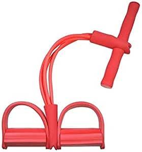 اداة شد الصدر الرياضية القابلة للحمل للاستخدام بالمنزل وكابل اسطواني لممارسة تمارين المقاومة الرياضية، واليوغا، جهاز تمارين رياضية لشد عضلات الصدر