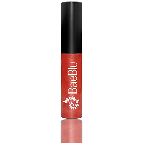 (Best Organic 100% Natural Vegan Hydrating Antioxidant-Rich Lip Gloss, Made in USA by BaeBlu, What a Drama Queen)