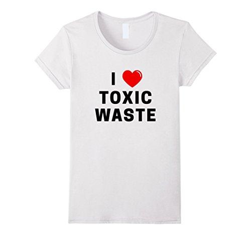 I Heart Toxic Waste T-Shirt | I Love Toxic Waste