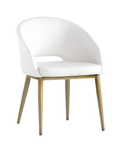 Sunpan 103037 Urban Unity Dining Chairs Snow