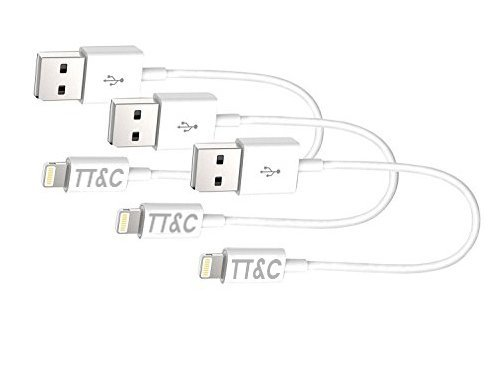 TT&C iPhone Lightning Short Cable  Supreme Quality Syncing a