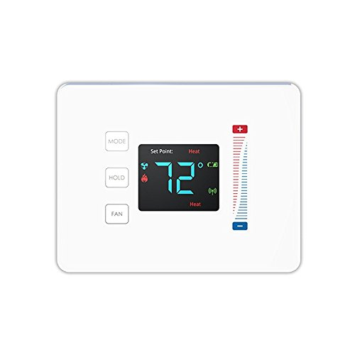 Centralite 3-Series Pearl Touch Thermostat, Whi...