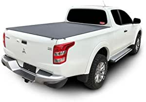 Mitsubishi Triton MQ/MR Club Cab July 2015 to Current Without Sports Bar and Headboard, Clip On Ute Tonneau Cover. Tuff Tonneaus Ute Covers are Australian Made and include all Fittings, Instructions, 5 year Warranty, Delivered Australia Wide.