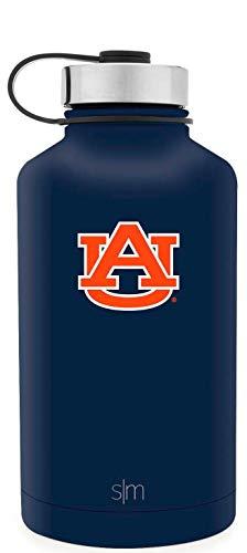 Simple Modern 64oz Summit Water Bottle - Auburn Tigers Vacuum Insulated 18/8 Stainless Steel Travel Mug - Auburn ()