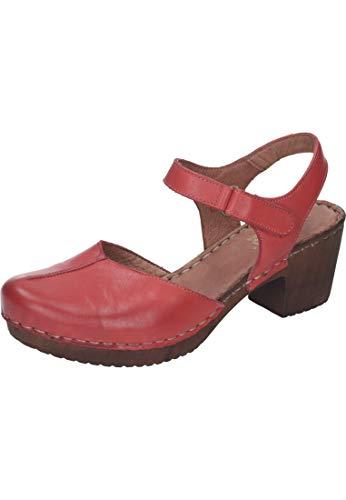 Schwarz 910857 Rot 1 1 1 Negro Sandalias Mujeres 4 schwarz g5q771