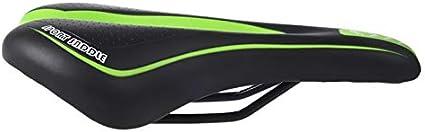 WINOMO Sill/ín de Bicicleta MTB Coj/ín de Asiento Bici Ciclismo Verde