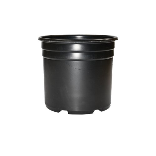 3 gallon grow plant soil support thermoformed pot packs of 10 plant germination equipment. Black Bedroom Furniture Sets. Home Design Ideas