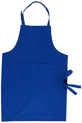 f Bib Apron, Heavyweight Cotton, Royal Blue ()