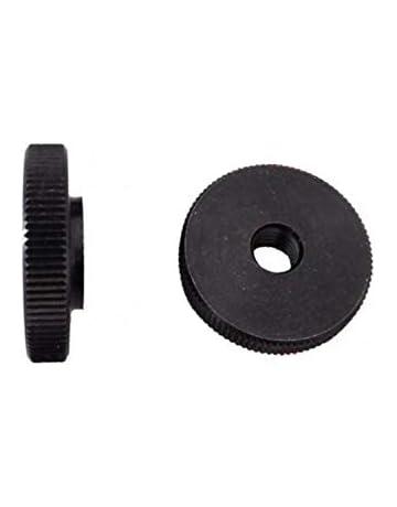 R/ändelmuttern MENGE w/ählbar Stahlgewinde verzinkt Menge:50 ST/ÜCK R/ändelmutter M4 Kunststoff