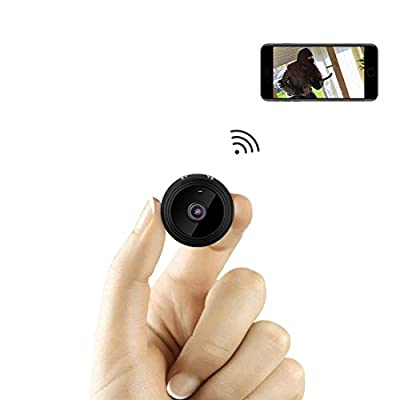 Spy Camera Wireless Hidden,TODAYI Mini WiFi Camera HD 1080P Wide-angle Indoor Home Smallest Spy Cam Apatment Security Nanny Cam Battery Powered with APP Motion Detection/Night Vision Live Video For i from Shenzhen Tuodayi Technology Co., Ltd.