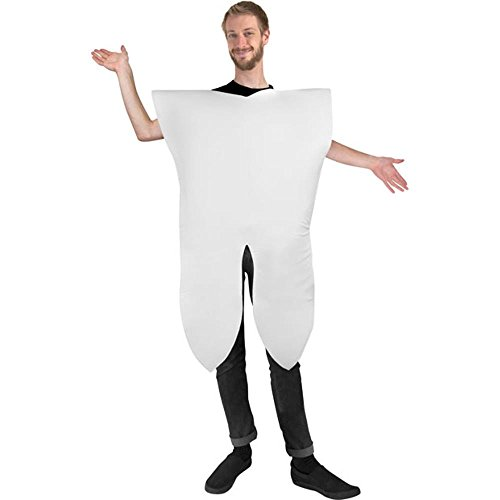 Wilton Adult Men's Tooth Halloween Costume -