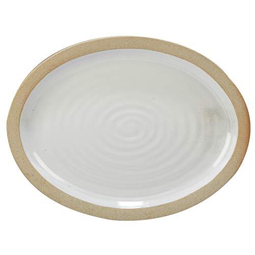 Certified International 23791 Artisan Oval Platter, 16