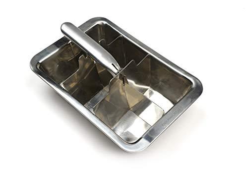 RSVP Endurance Stainless Steel Large Cube Ice Tray Aluminum Ice Cube Tray