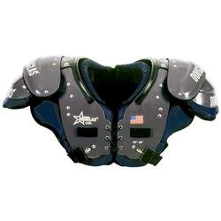 Douglas SP Series QB-WR-DB Football Shoulder Pads - One Color Small