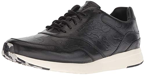 Cole Haan Men's Grandpro Runner Sneaker, Black camo Embossed, 7 M US (Cole Haan Camo)