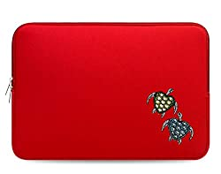 Design Crystal Bling Rhinestone Studded Red Laptop Case