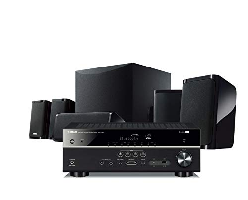 Yamaha Yht-4950U 4K Ultra HD 5.1-Channel Home Theater System with Bluetooth (Best Yamaha Home Theater Receiver)