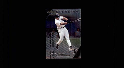 1999 Finest Sterling SP SHORTPRINT #263 Frank Thomas HOF WHITE SOX