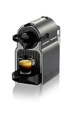 Nespresso A+C40-US-TI-NE Inissia Espresso Maker with Aeroccino Plus Milk Frother, Titan from Nespresso