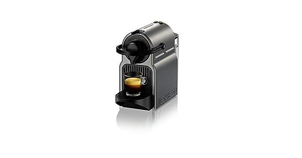 Amazon.com: Cafetera de espresso Inissia de Nespresso, color ...