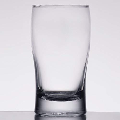 MM Foodservice Beer Tasting Glass, Beer Sampler Set, Sampler Glasses, Set of 4 (Pub Glass 5.5 oz.)