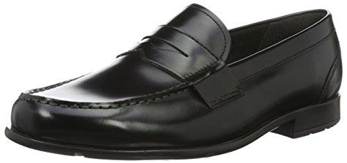 Classic Off Penny Rockport Loafer Noir Homme Mocassins Brush black 7gwwPx8d