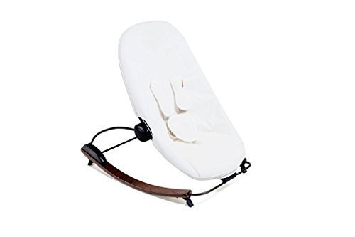 Frame Baby Lounger (bloom coco go 3-in-1 lounger with seat pad in organic cotton canvas - Cappuccino Frame with Seatpad (Coconut White))