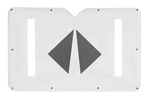 Belmor WF-2109-1 White Winterfront Truck Grille Cover for 2000-2017 International 5900I, 1998-2008 9900, 9900I, 9900IX Construction Duty