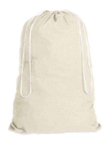 Whitmor Natural Cotton Laundry Bag Natural product image