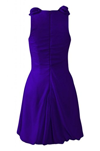 vestiti Party Sunvary Blue da Dresses smanicato Royal Cocktail corto Bridemaid Beautiful qZ8xF4