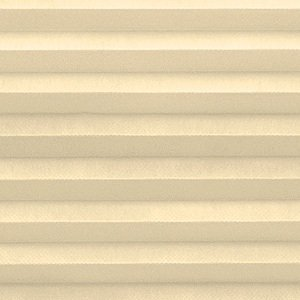 Custom Cordless Single Cell Shades, 54W x 60H, Ivory Beige, Any size from 21