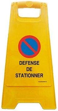 Attention Travaux en cours Balise Chevalet de signalisation