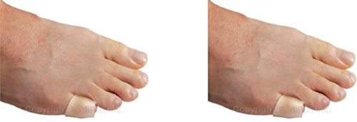 Pedifix Corn - PediFix Visco-gel Little Toe Sleeves, 2-Count (Pack of 4)