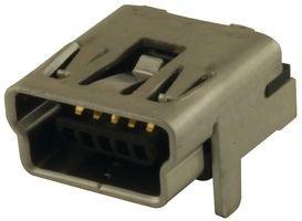 a través del agujero Mini-B Molex Socket Usb 548190519