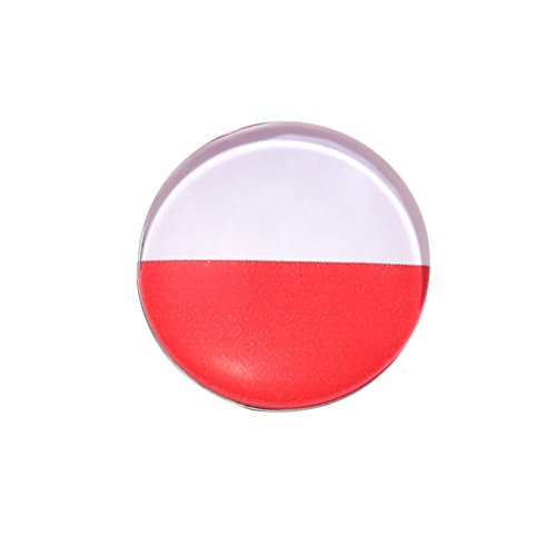Shuohu Russia World Cup 2018 - National Flag Brooch Pin Breastpin for Fans of ()