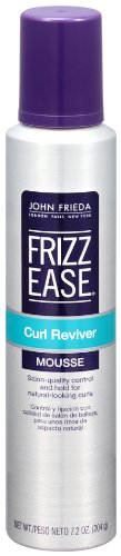 John Frieda Frizz Ease Curl Reviver Styling Mousse, 7.2 Ounce