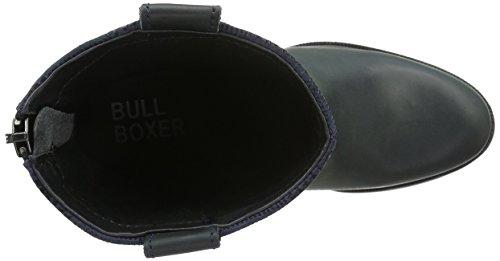 Botines para 743m75765a Bullboxer Mujer Negro q07wCR