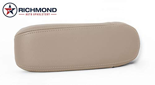 Richmond Auto Upholstery - Driver Side Replacement Leather Armrest Cover, Tan (Compatible with 2000-2003 Ford F150 Lariat FX4 4X4)