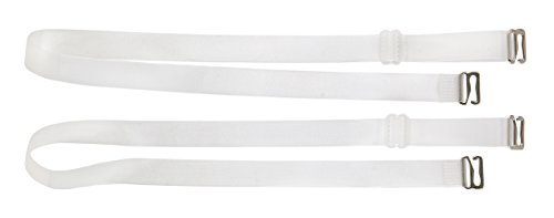 Fashion First Aid Women's Clearly Gone Disappearing Bra Straps, Clear, One Size