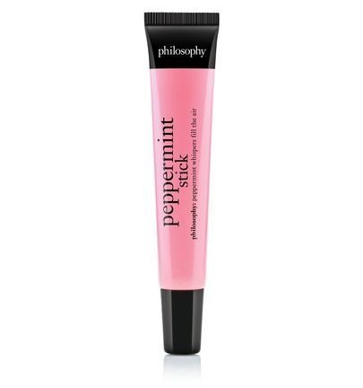 *Limited Edition* Philosophy Peppermint Stick Flavored Emollient Lip Shine (.4oz) ()