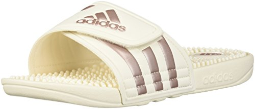 adidas Originals Women's Adissage Cloud White/Vapour Grey Metallic/Cloud White