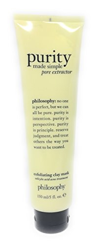 Philosophy Purity Made Simple Pore Extractor Exfoliating Clay Mask - 5 Ounces (5 oz)