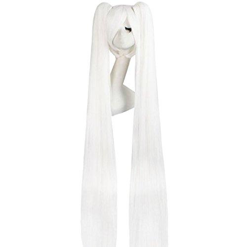 Xcoser Miku Wig Vocaloid Hatsune Miku Cosplay Long Bunches Costume wig Halloween