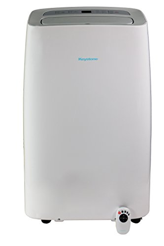 Price comparison product image 115V Portable Air Conditioner with Follow Me Remote Control for Rooms up to 350-Sq. Ft.